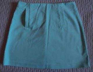 Minifalda Zara Basic Talla M