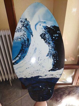 tabla de surf para la orilla
