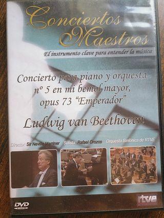 conciertos maestros Beethoven piano y orquesta N 5