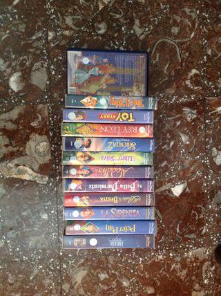 Se venden películas Disney originales vhs