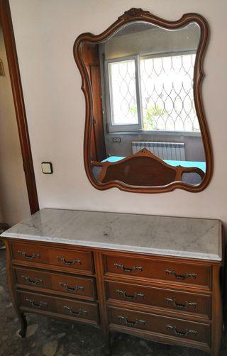 tocador vintage+espejo