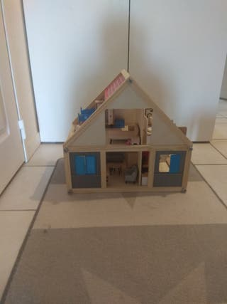 Se vende casita de madera