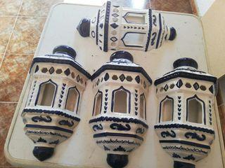 Foco pared cerámica