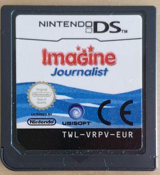 Videojuego Imagine Journalist para nintendo DS