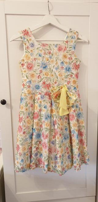 Vestido niña talla 12 Atelier de Candela