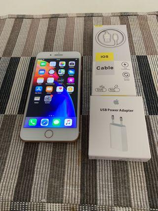 Iphone 8plus 64gb dorado!