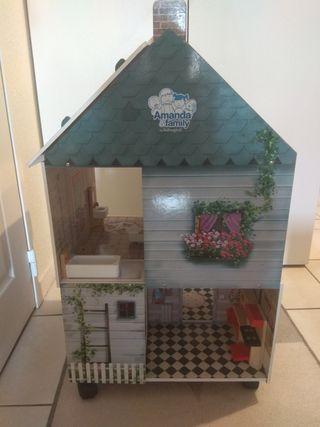 Se vende casa de madera de Amanda y Family