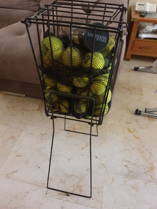 Carro de bolas Wilson