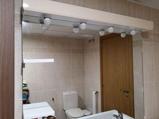 Espejo grande baño con luces