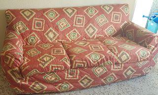 Conjunto de sofá y sillones