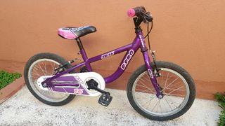 se vende bicicleta infantil de 16 pulgadas