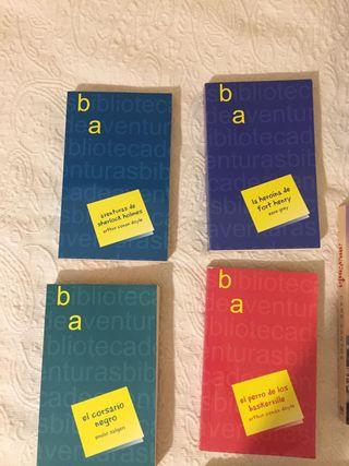Colección de libros novela negra