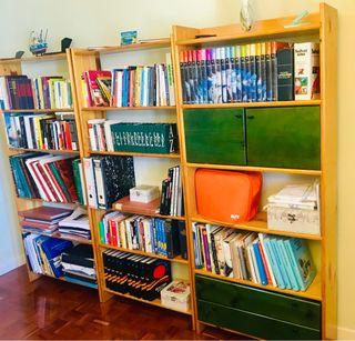 3 módulos de librerías