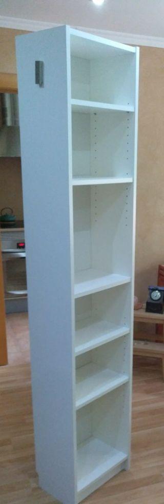Estantería/librería BILLY blanca Ikea