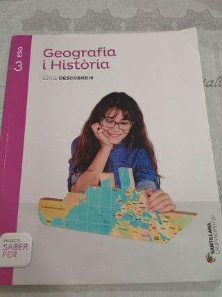 Llibre geografia i història 3r ESO