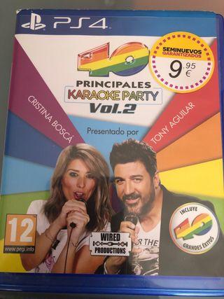 Karaoke 40 principales