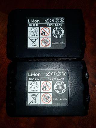 Baterias per a Makita BL1840