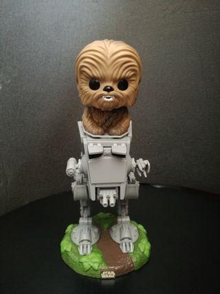 Funko Pop Star Wars Chewbacca con AT-ST