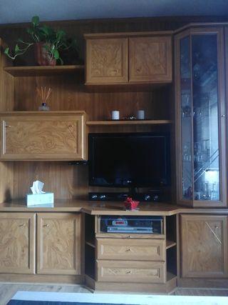Mueble de salón modulado.