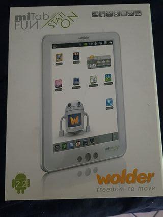 Tablet y ebook wolder