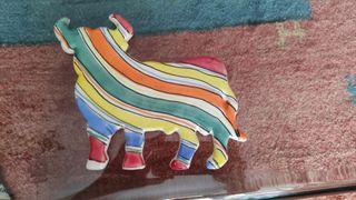 vendo torro de porcelana de Manises