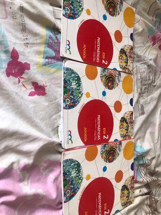 Libros de 2 eso de matemáticas