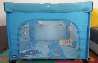 Parque Infantil con Puerta Chicco Open Sea