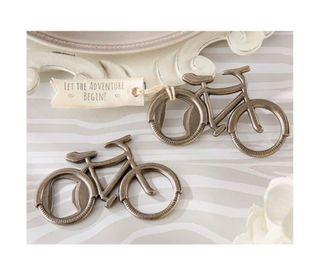Abridor bici. Regalo para invitados