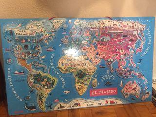 Puzzle Magnético El Mundo de Janod