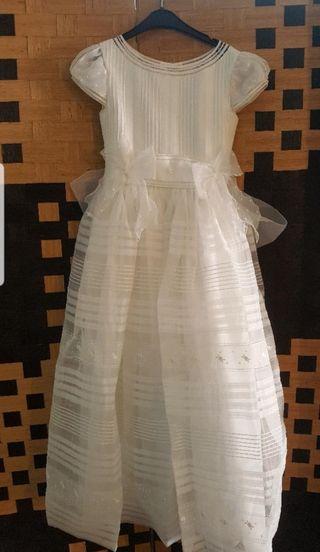 Vestido de comunión de Rosa Clará.