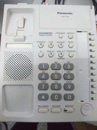 vendo teléfonos Panasonic centralita telefonica