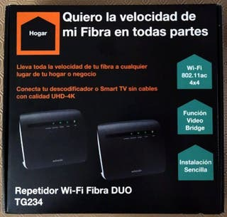 Repetidor WIFI Duo Fibra