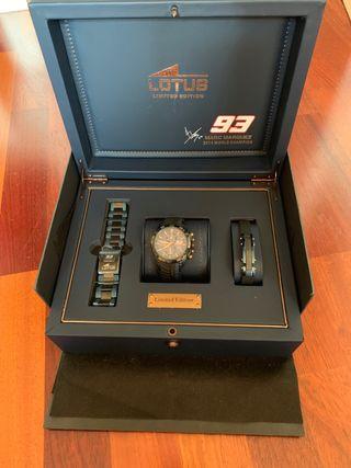 Reloj Lotus edición limitada Marc Márquez