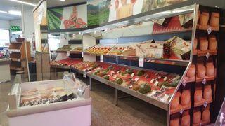 Mostradores frigoríficos estanterías