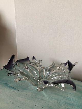 Centro cristal vintage