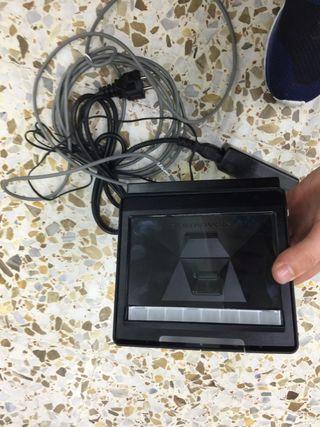 Escáner con soporte