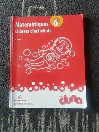 Libro Matematicas actividades 9788430719327