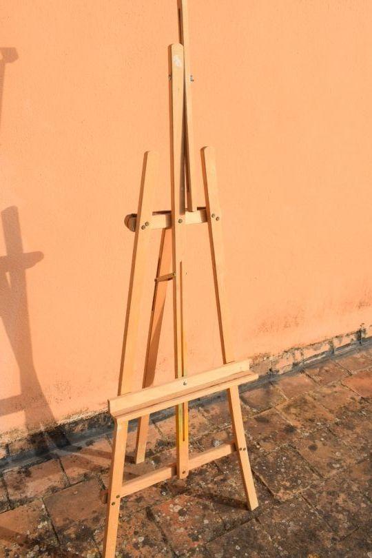 Caballete pintura