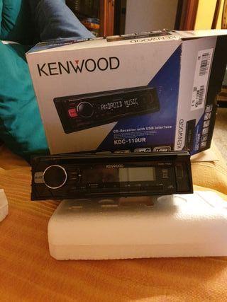Radio cd mp3 USB y AUX para coche
