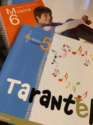 Libros de texto música