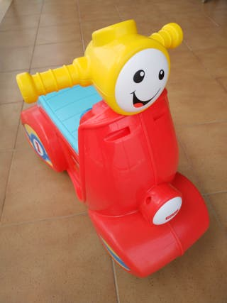 Fisher Price Smart Stages Scooter. Moto de juguete