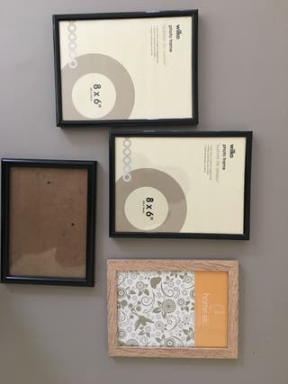 Four photo frames