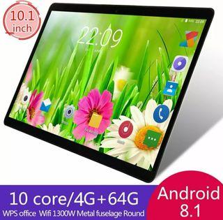 Android 8.1 Tablet PC 4GB + 64GB con 10 núcleos WI