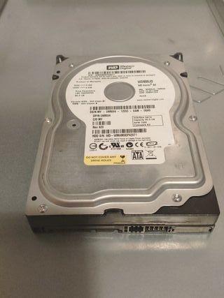 """Disco duro 80GB HDD 3,5"""" Western Digital"""