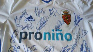 coleccionista camiseta real Zaragoza