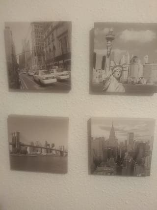 lienzos decorativos Nueva York