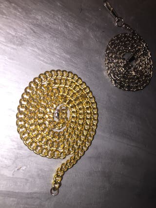 Chains - gold/silver