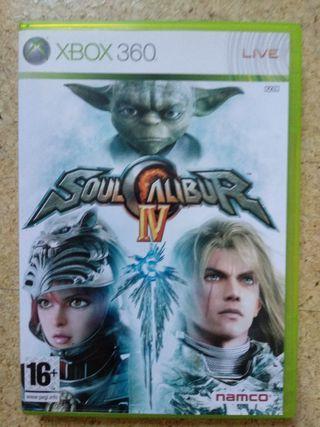 Soulcalibur IV XBOX 360 Videojuego