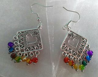 Various brand new pierced earrings