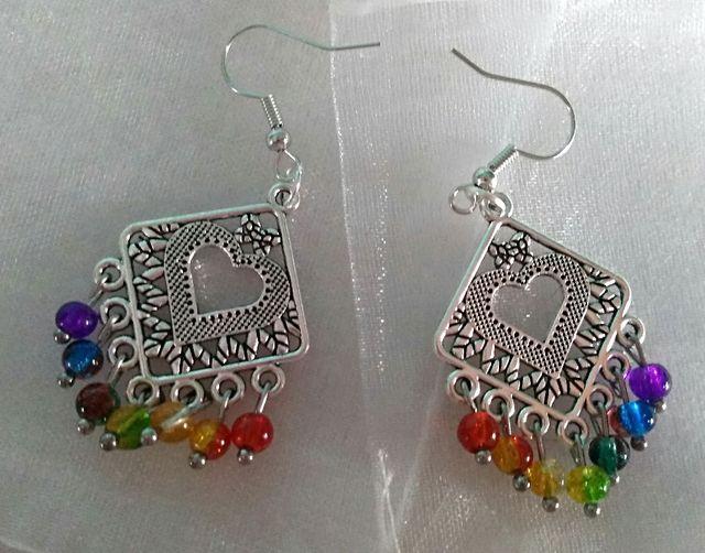 Various brand new pierced earrings